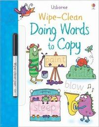 bokomslag Wipe-Clean Doing Words to Copy