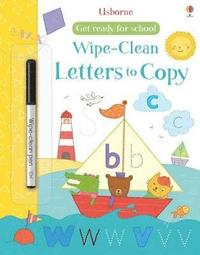 bokomslag Get Ready for School Wipe-Clean Letters to Copy
