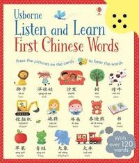 bokomslag Listen and Learn First Chinese Words