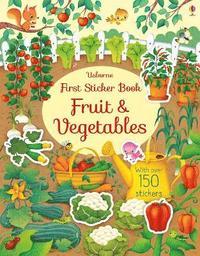 bokomslag First Sticker Book Fruit and Vegetables