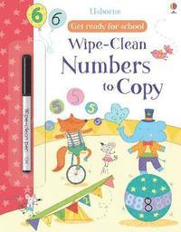 bokomslag Get Ready For School Wipe-Clean Numbers to Copy