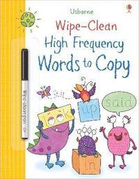 bokomslag Wipe-Clean High-Frequency Words to Copy