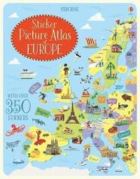 bokomslag Sticker Picture Atlas of Europe