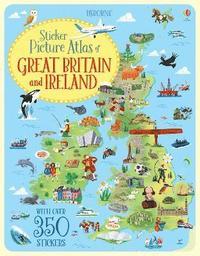 bokomslag Sticker Picture Atlas of Great Britain and Ireland