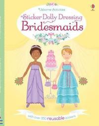 bokomslag Sticker Dolly Dressing Bridesmaids
