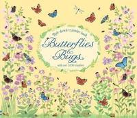 bokomslag Rub-Down Transfer Book Butterflies and Bugs