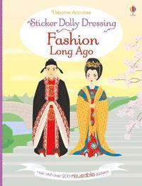 bokomslag Sticker Dolly Dressing Fashion Long Ago
