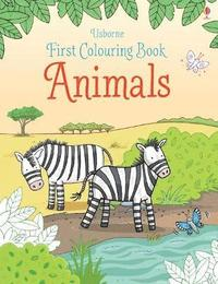 bokomslag First Colouring Book Animals