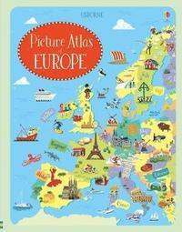 bokomslag Picture Atlas of Europe
