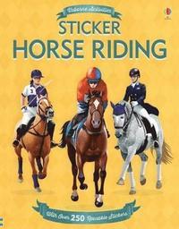 bokomslag Sticker Horse Riding