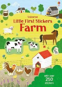 bokomslag Little First Stickers Farm