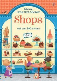 bokomslag Little First Stickers Shops