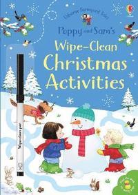 bokomslag Poppy and Sam's Wipe-Clean Christmas Activities