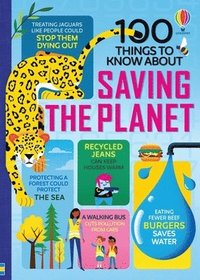 bokomslag 100 Things to Know About Saving the Planet