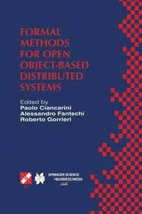 bokomslag Formal Methods for Open Object-Based Distributed Systems