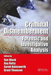 bokomslag Criminal Dismemberment