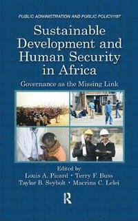 bokomslag Sustainable Development and Human Security in Africa