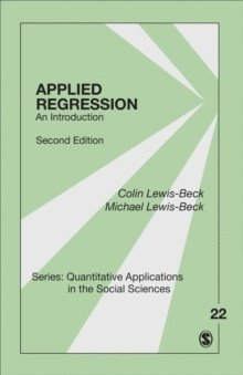 bokomslag Applied Regression: An Introduction