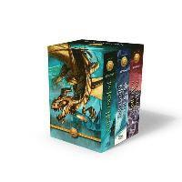bokomslag The Heroes of Olympus Boxed Set: The Lost Hero/The Son of Neptune/The Mark of Athena