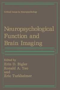 bokomslag Neuropsychological Function and Brain Imaging