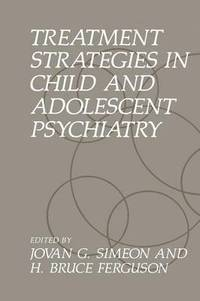 bokomslag Treatment Strategies in Child and Adolescent Psychiatry