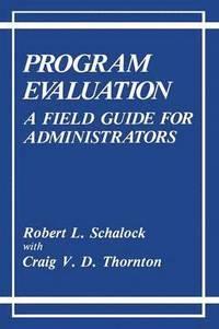 bokomslag Program Evaluation