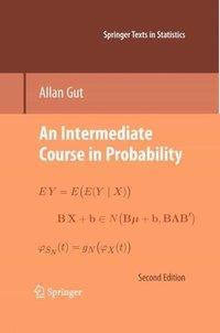 bokomslag An Intermediate Course in Probability