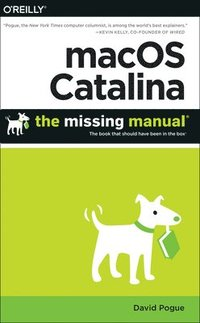 bokomslag macOS Catalina: The Missing Manual