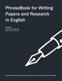bokomslag Phrasebook for Writing Papers and Research in English