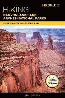 bokomslag Hiking canyonlands and arches national parks - a guide to more than 60 grea