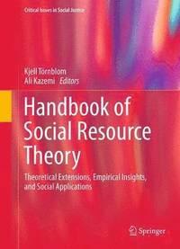 bokomslag Handbook of Social Resource Theory