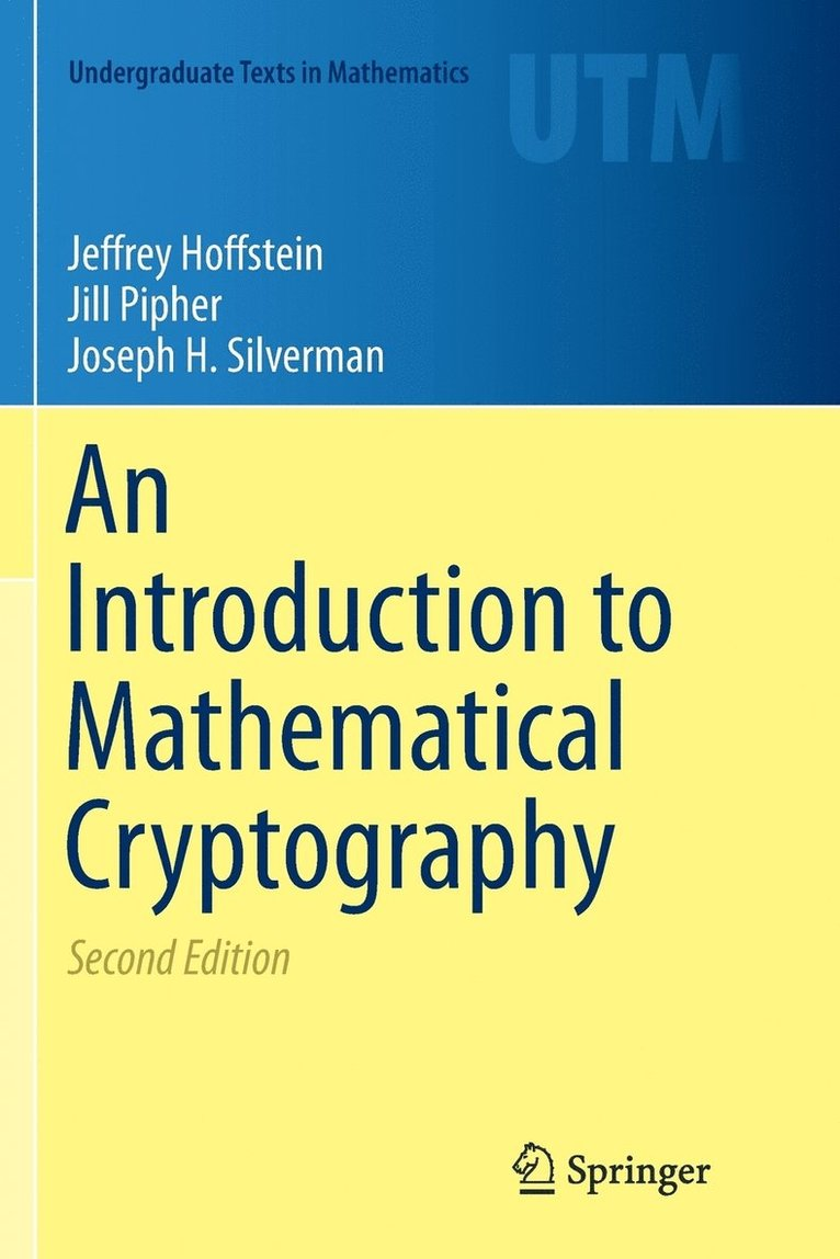 An Introduction to Mathematical Cryptography 1