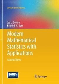 bokomslag Modern Mathematical Statistics with Applications