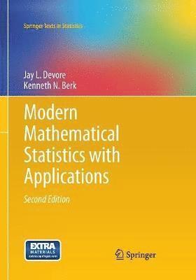 bokomslag Modern Mathematical Statistics with Applications