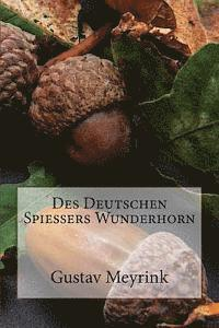 bokomslag Des Deutschen Spießers Wunderhorn