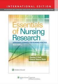 bokomslag Essentials of nursing research