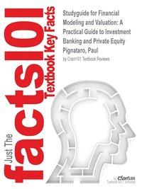 bokomslag Studyguide for Financial Modeling and Valuation