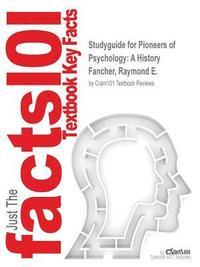 bokomslag Studyguide for Pioneers of Psychology