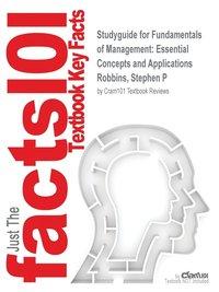 bokomslag Studyguide for Fundamentals of Management