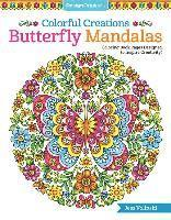 bokomslag Colorful Creations Butterfly Mandalas