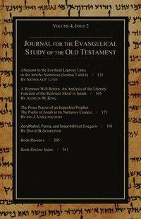 bokomslag Journal for the Evangelical Study of the Old Testament, 4.2
