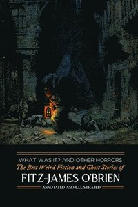 bokomslag What Was It? and Others: Fitz-James O'Brien's Best Weird Fiction & Ghost Stories: Tales of Mystery, Murder, Fantasy & Horror