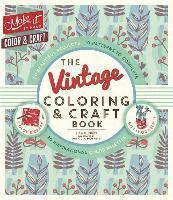 bokomslag The Vintage Coloring & Craft Book