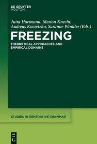 bokomslag Freezing