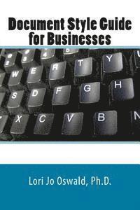 bokomslag Document Style Guide for Businesses