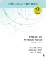 Evaluation: A Systematic Approach 1