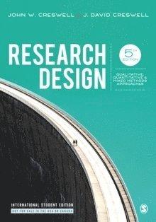 bokomslag Research Design: Qualitative, Quantitative, and Mixed Methods Approaches