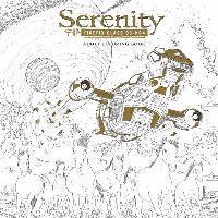 bokomslag Serenity adult coloring book