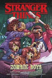 bokomslag Stranger Things: Zombie Boys (graphic Novel)