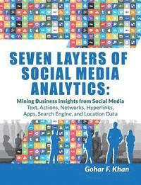 bokomslag Seven Layers of Social Media Analytics: Mining Business Insights from Social Media Text, Actions, Networks, Hyperlinks, Apps, Search Engine, and Location Data